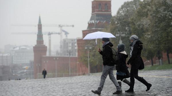 На предстоящих выходных в Москве ожидается снег