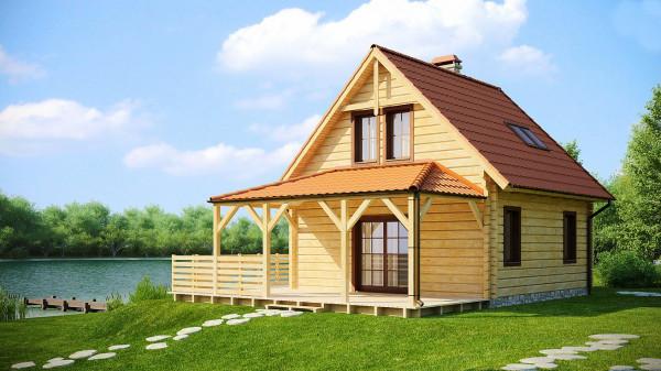 Треть домов в России могут построить из дерева
