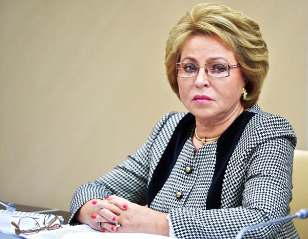 Матвиенко: в России не должно быть платной детской медицины