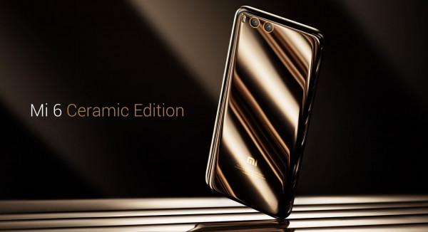 Стартовали продажи Xiaomi Mi 6 Ceramic Edition с керамическим корпусом