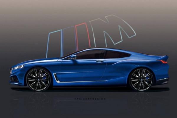 В сети рассекречено новое купе BMW 8 Series
