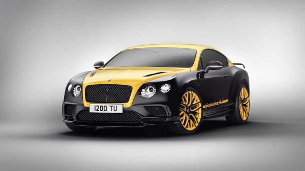 Британцы выпустят 24 особых купе Bentley Continental Supersports