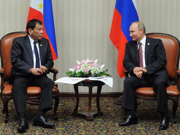 Встреча Путина и Дутерте экстренно перенесена