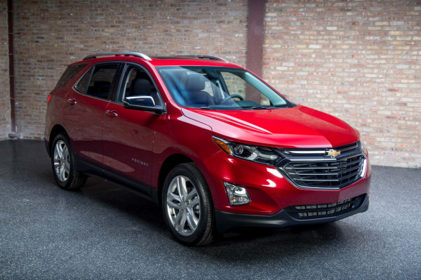 Chevrolet Equinox 2018 станет легче на 10%