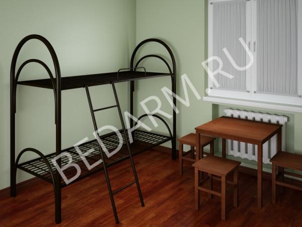 Кровати из металла для хостелов