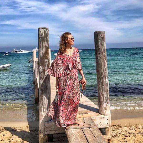 Ксения Собчак после Канн отправилась на отдых в Сент-Тропе