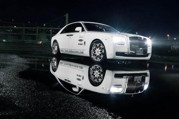 Специалисты из Forgiato представили тюнинговый Rolls-Royce Ghost