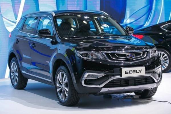Новый кроссовер Geely Atlas стал одним из лидером SUV-сегмента