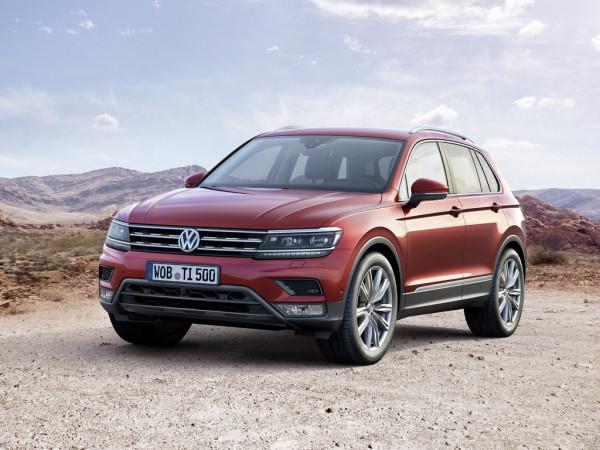 Volkswagen Tiguan стал самой продаваемой по программе господдержки моделью