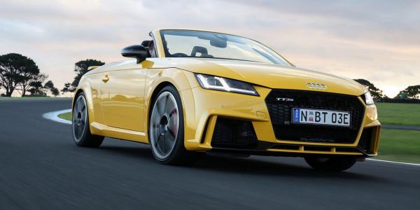 Новый Audi TT RS дебютирует на рынке Австралии