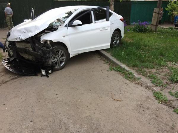 В Тамбове пьяная автоледи устроила ДТП