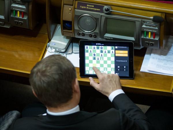 Нардеп Украины отправлял подруге «клубничку» прямо с заседания парламента