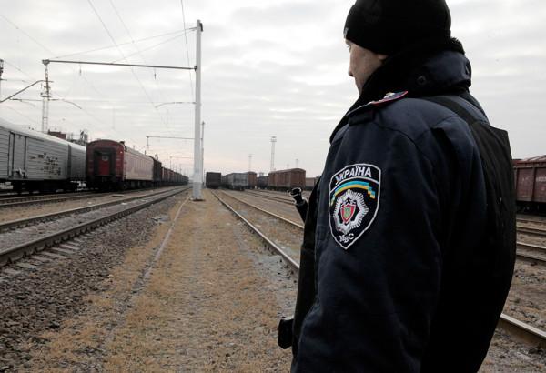 В Хмельницкой области поезд со школьниками столкнулся с грузовым составом