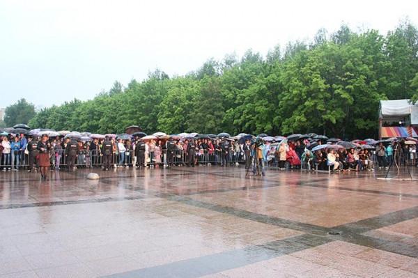 Москвичи ярко отмечают Дни столицы в Брянске