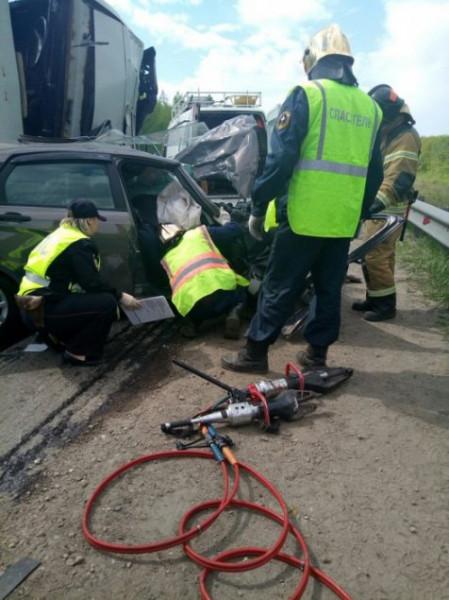 Семья из Ульяновска погибла в ДТП с грузовиком под Нижним Новгородом