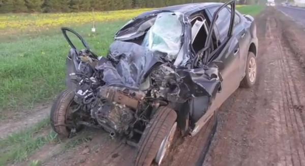 В Удмуртии в страшном ДТП с автобусом погибли 2 человека
