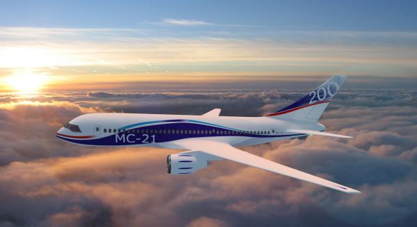 В Сети опубликовали видео первого полета МС-21 в Иркутске