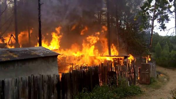 Под Кировом после пожара в сарае нашли обгоревший труп и бездомного