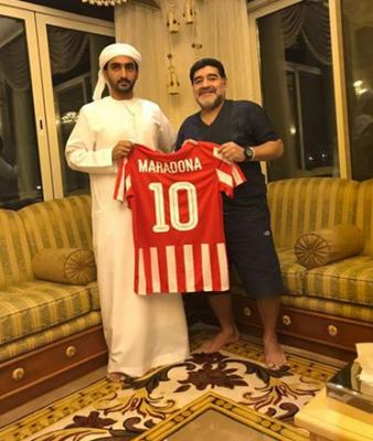 Диего Марадона возглавил клуб второго дивизиона из ОАЭ