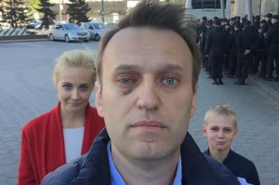 Названы причины выдворения Навального с митинга против реновации