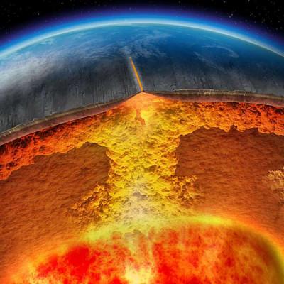 Геофизики открыли новый вид литосферных плит Земли