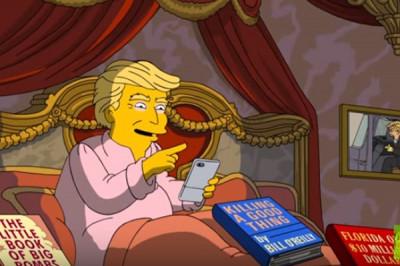 В новой серии «Симпсонов» Трамп помирится  с экс-главой ФБР Коми