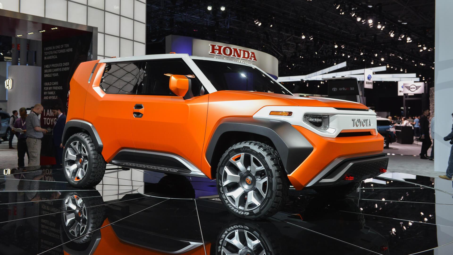 Тойота назовет новый кроссоверTJ Cruiser