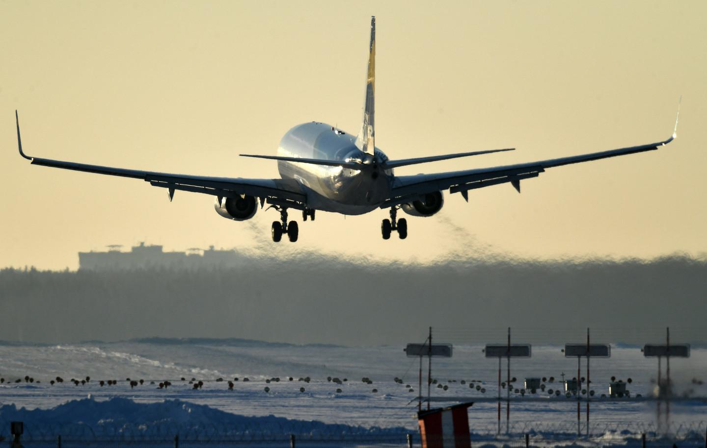 Сорок рейсов отменили изадержали ваэропортах столицы
