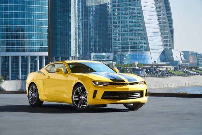 Шевроле доставила в Российскую Федерацию лимитированную версию Camaro