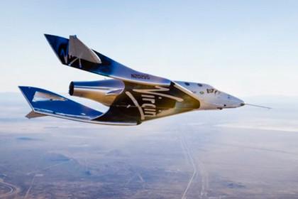 Virgin Galactic успешно испытала космический корабль для туристов
