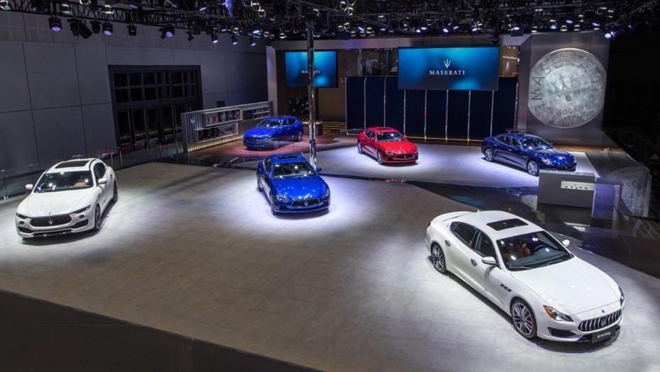 Продажи Maserati в России выросли в 11 раз