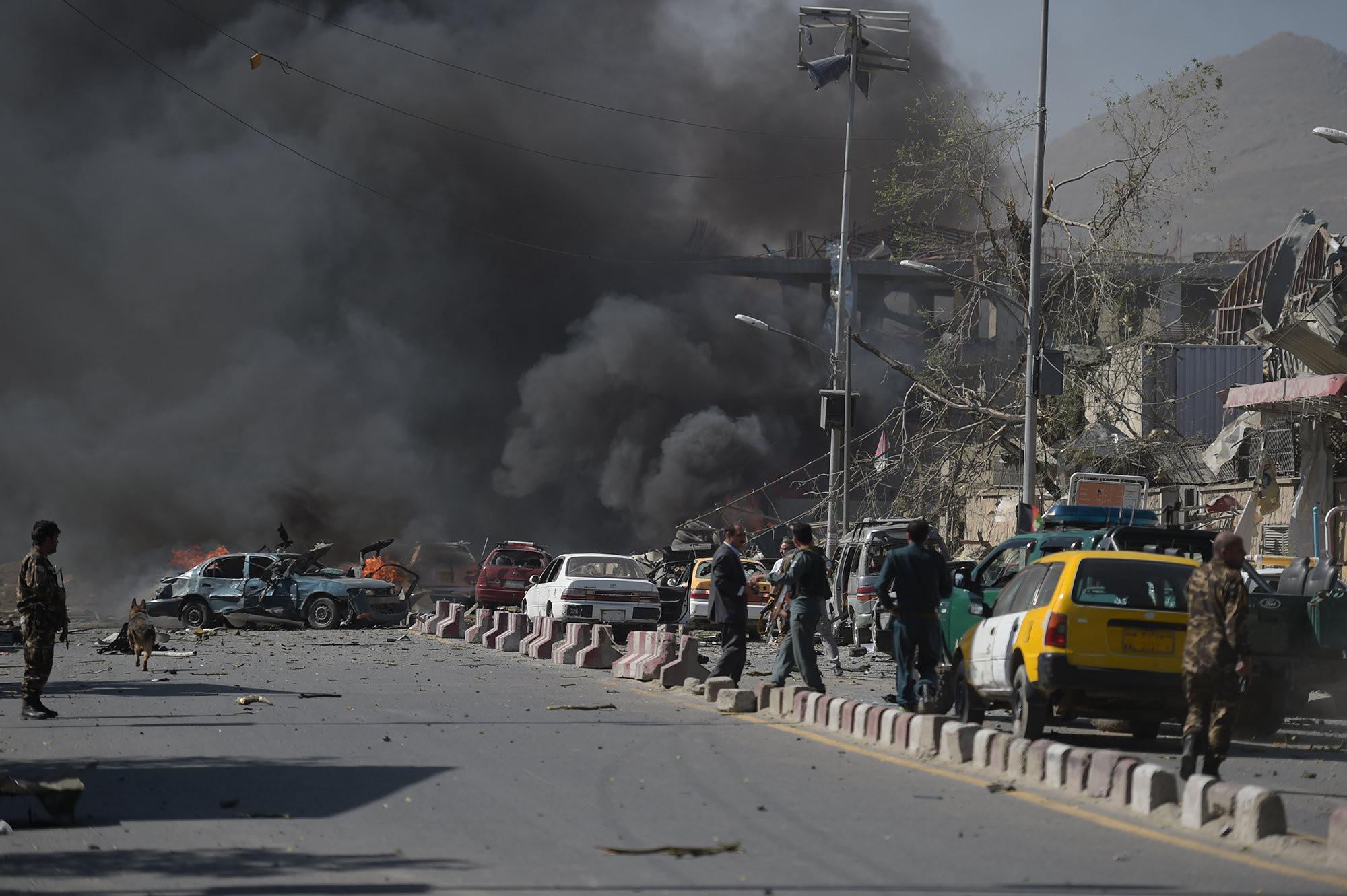 Мощнейший взрыв прогремел виранском городе Шираз