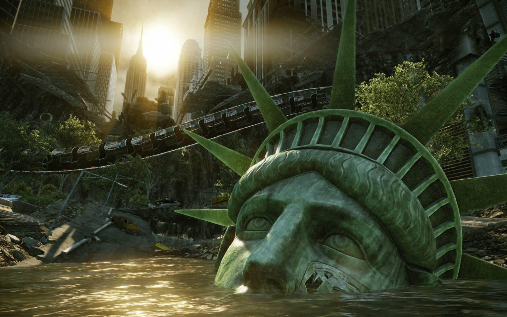 Ученые прогнозируют полное исчезновение города к2100 году— Утонувший Нью-Йорк