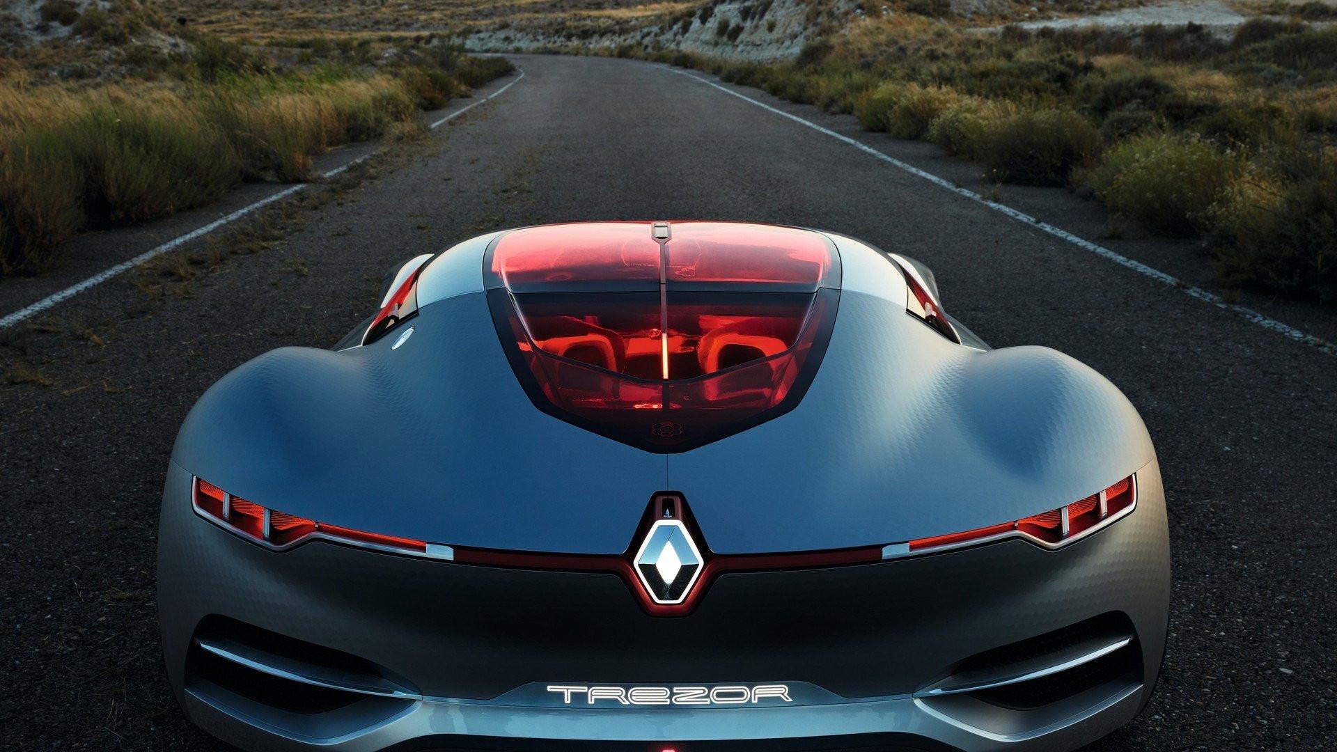 Рэно презентовал концептуальный автомобиль Trezor