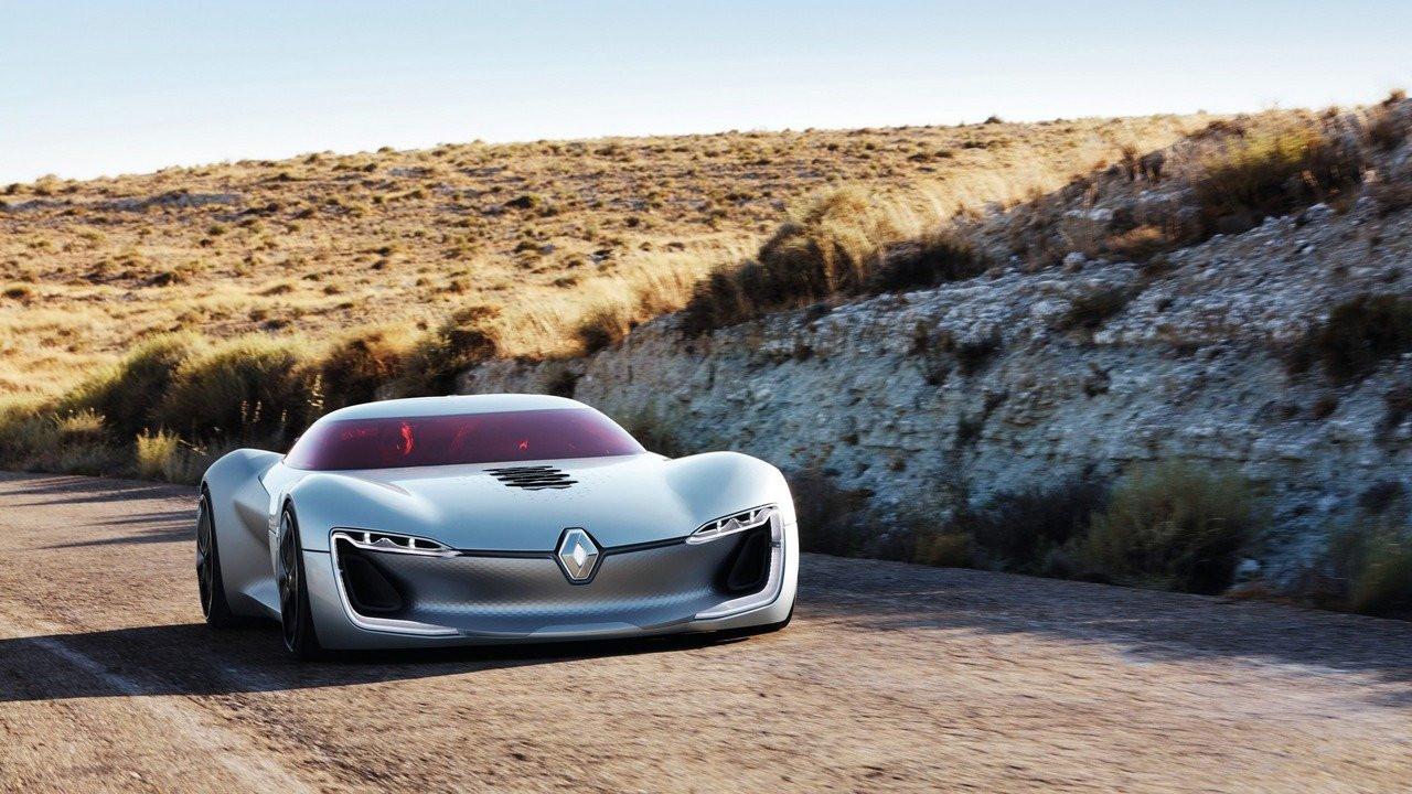 Рено  презентовал концептуальный автомобиль  Trezor