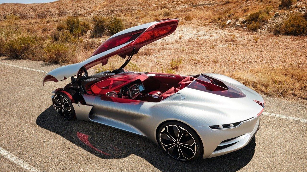 Компания Рено презентовала концептуальный автомобиль Trezor