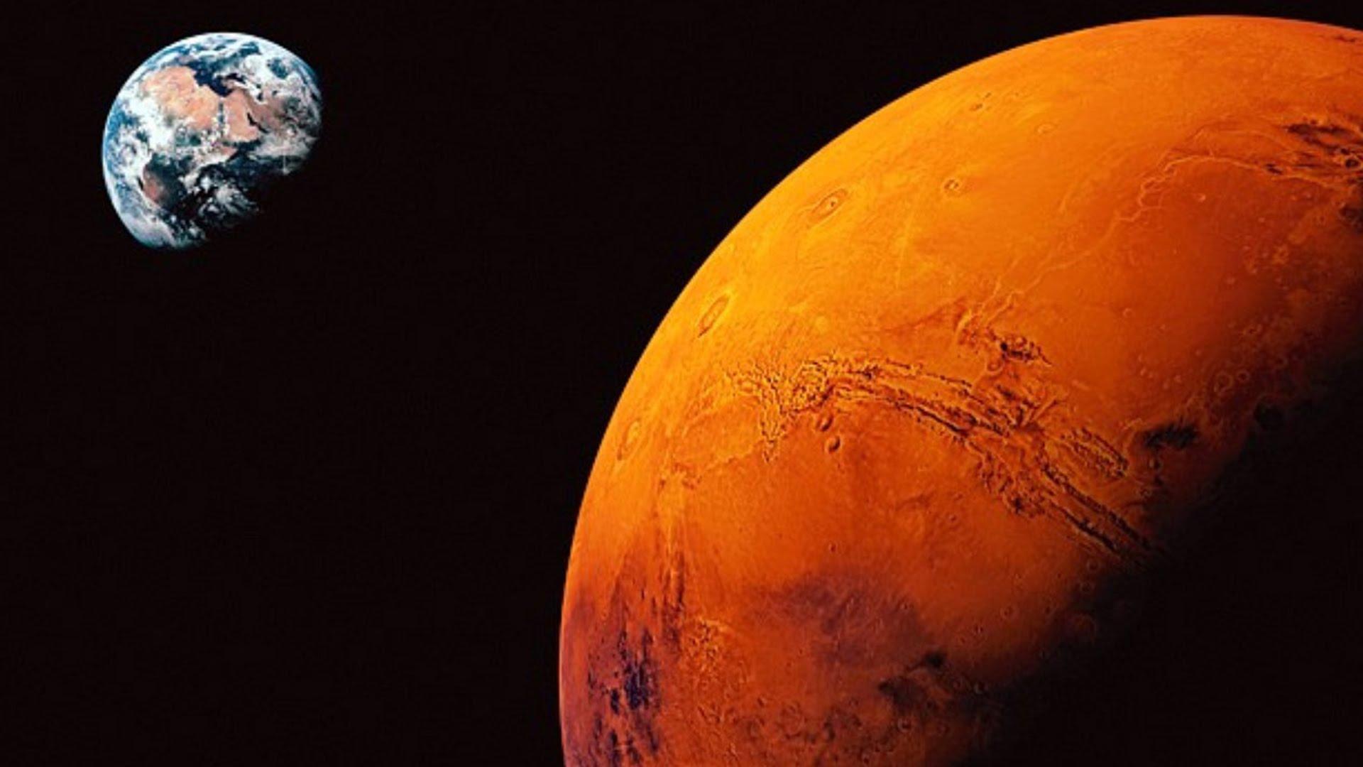 Зонд Mars Orbiter сделал фотографии, доказывающие существование жизни наМарсе