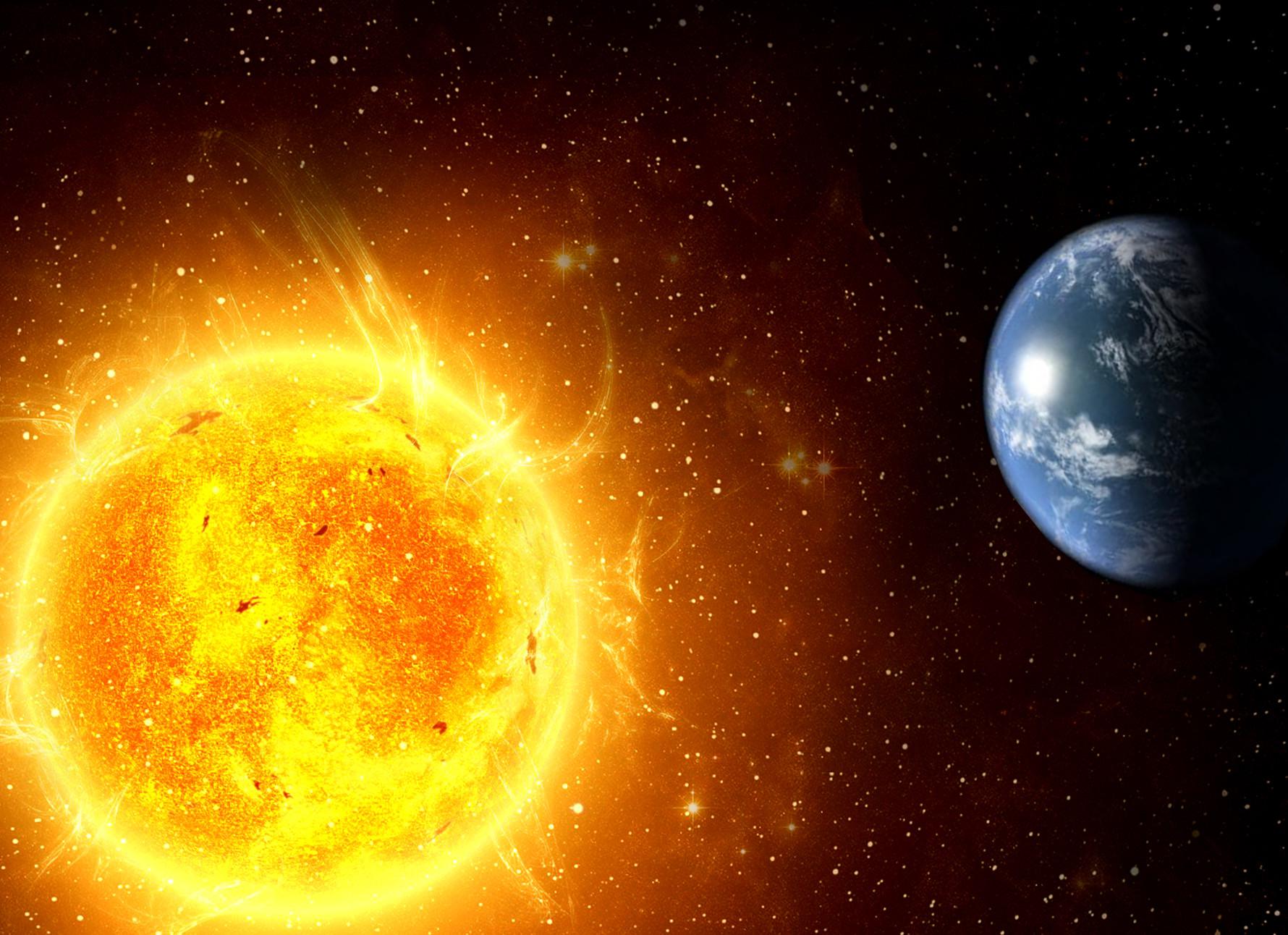 Земля отдаляется отСолнца, однако никуда отнего неденется
