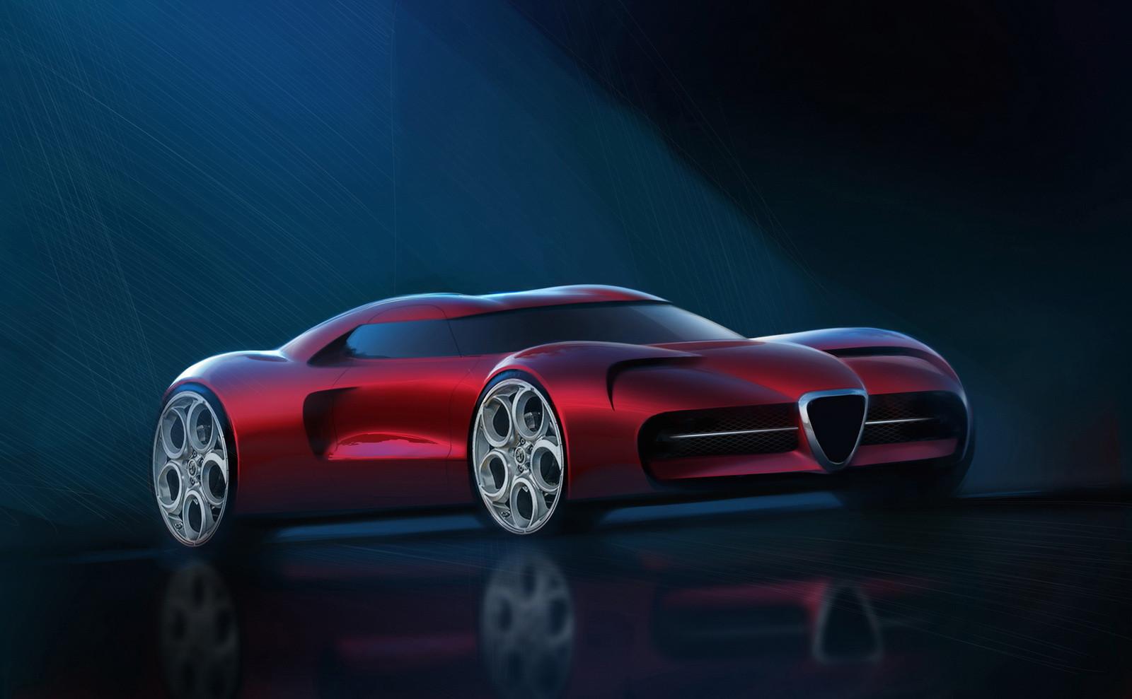 Альфа Ромео планирует выпустить 1-ый суперкар