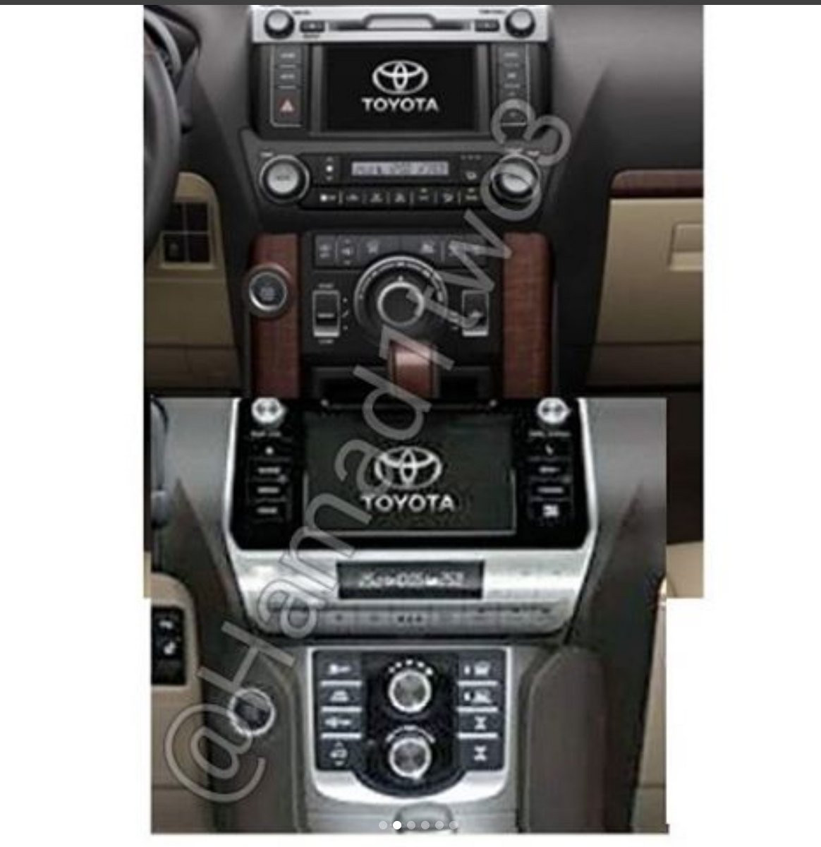 Toyota Land Cruiser Prado 2018: первые фото обновленной модели появились вСети