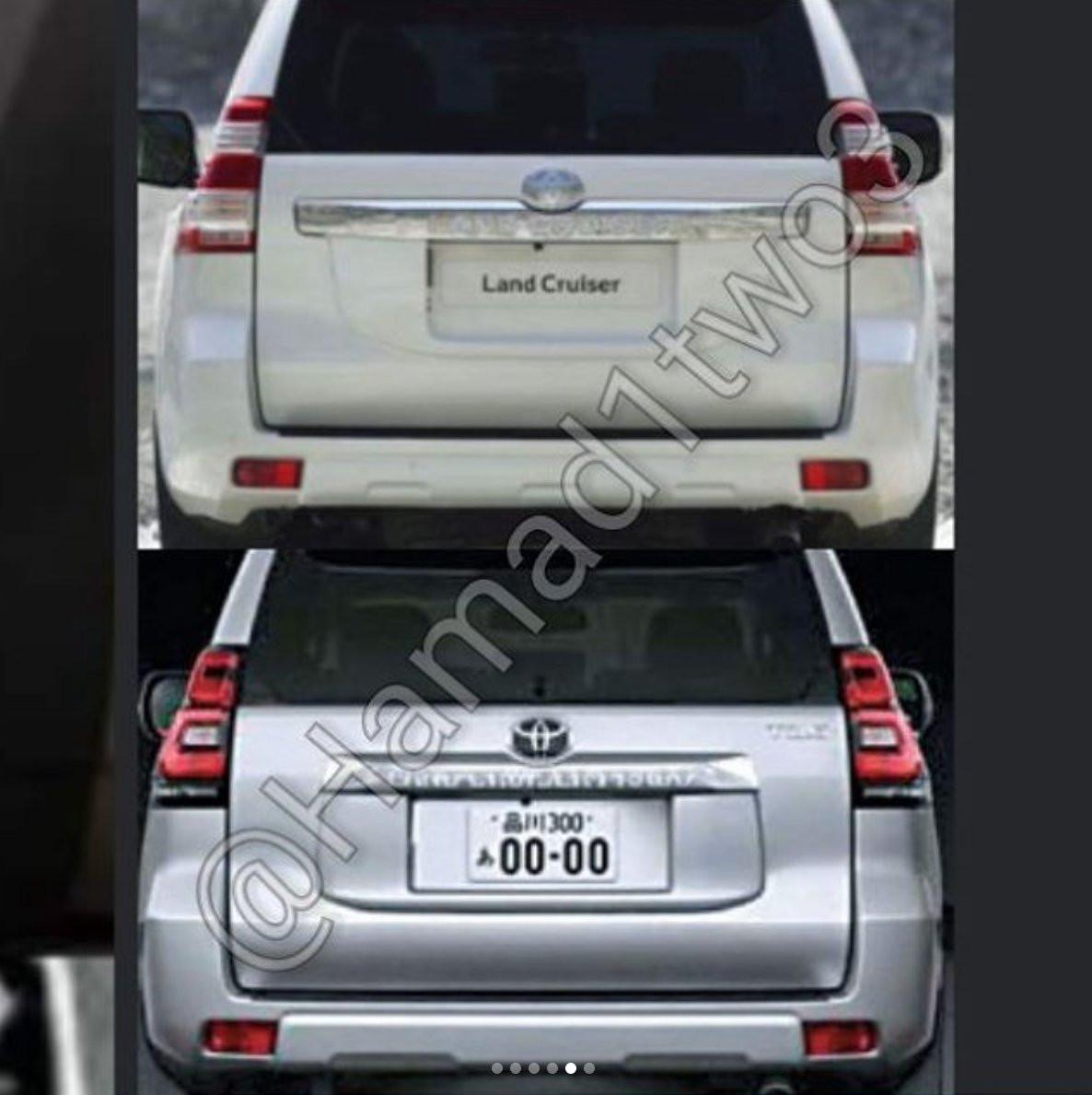 Фото улучшенного Тойота Land Cruiser Prado появились винтернете