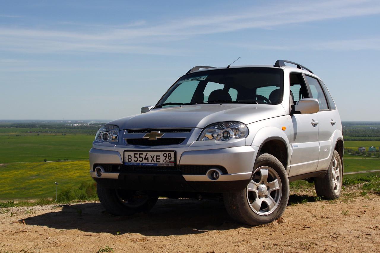 Неменее половины машин Шевроле Niva продается при помощи господдержки