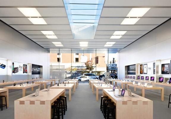 Apple Store закрылся нареконструкцию