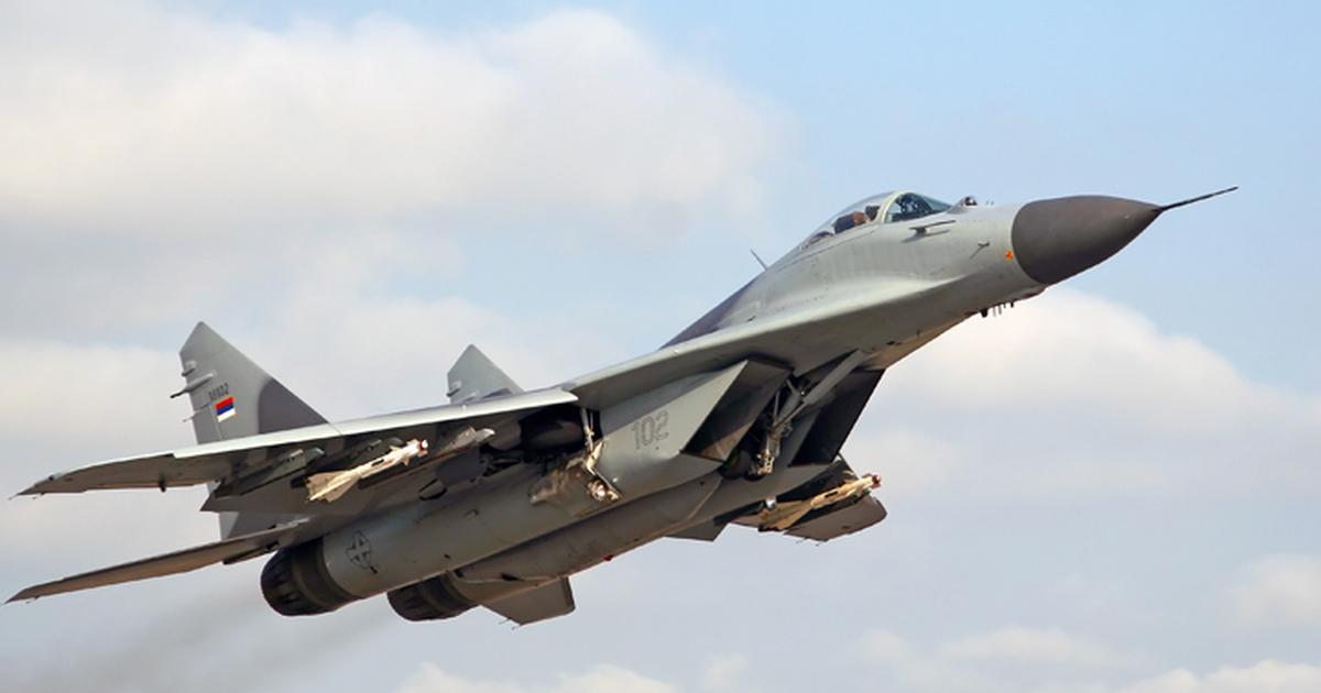 Экипажи полка МиГ-29 подняли потревоге вКурской области