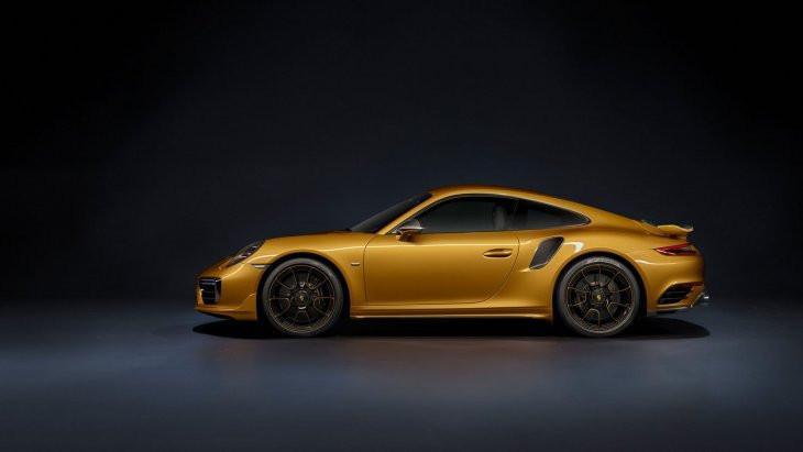 Представлено 607-сильное купе Порше 911 Turbo SExclusive Series