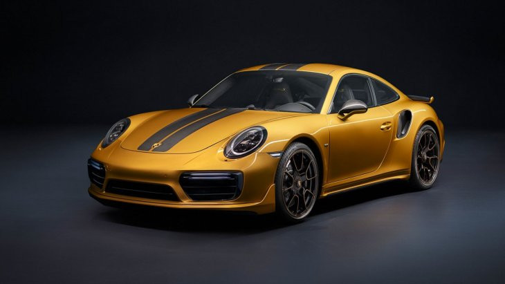 Porshce 911 Turbo Sполучил версию Exclusive