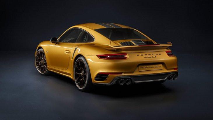 Порш показала самую сильную модель 911 Turbo S