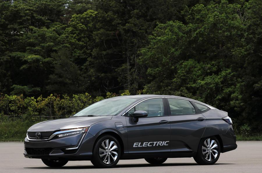 Хонда выпустит два новых электромобиля в 2018-ом