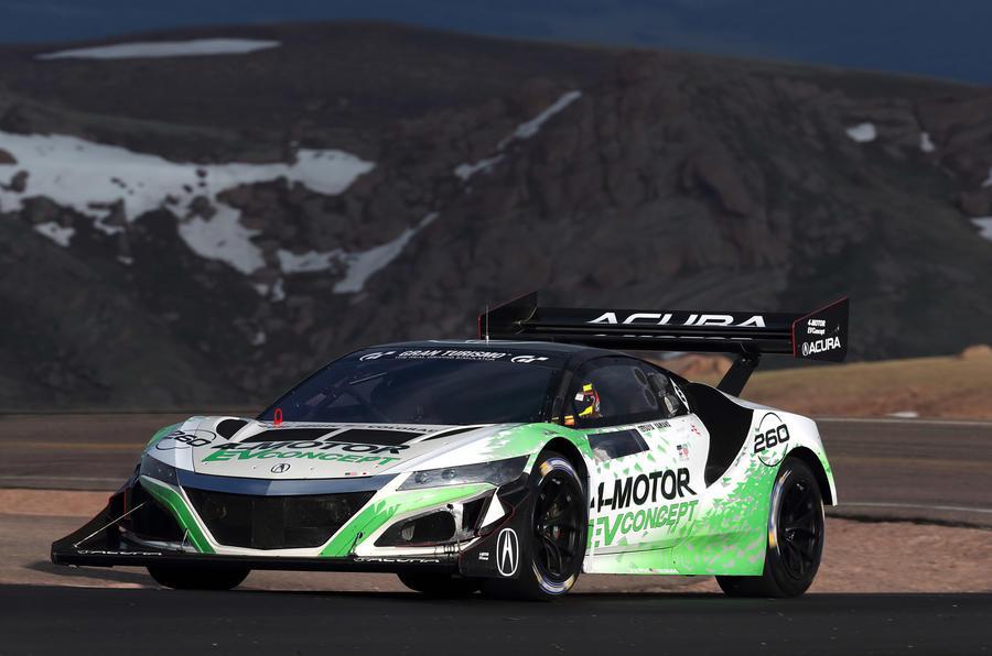 Хонда задумала превратить следующий NSX вэлектрический гиперкар
