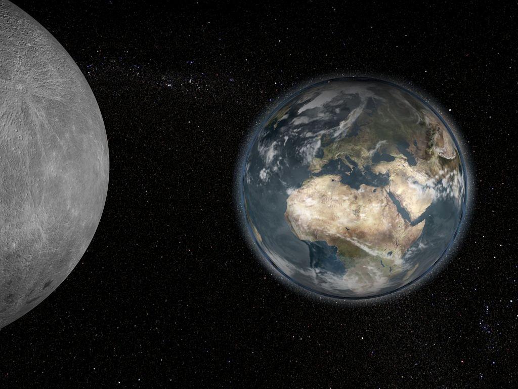 Ученые обнаружили, что Луна состоит изземных пород